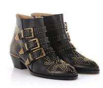 Stiefeletten Boots Susanna Nappaleder Florale Nieten