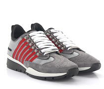 Sneaker 251 Veloursleder grau Hightech-Jersey