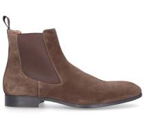 Chelsea Boots 13414 Veloursleder khaki
