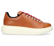 Sneaker low LARRY TREKKING Kalbsleder Logo schwarz