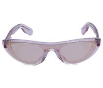 Sonnenbrille Cat Eye 40007I 72Z Acetat lila