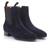 Chelsea Boots 55204 Veloursleder