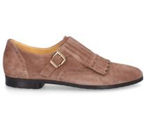 Monk Schuhe 8427 Veloursleder