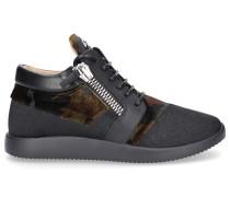 Sneaker high RUNNER Logo schwarz e