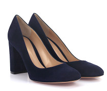 Pumps LINDA MID Veloursleder