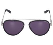 Sonenbrille Aviator 043106 Metall silber