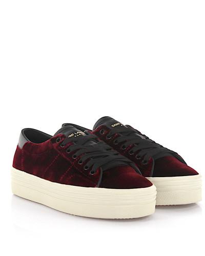 Sneaker Signature Court Classic SL/39 Samt bordeaux