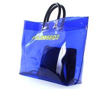 Strandtasche TOTE BAG PVC PVC schwarz