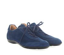 Sneaker 20435 Veloursleder Lochmuster