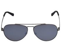 Sonnenbrille Aviator 085108 Metall silber