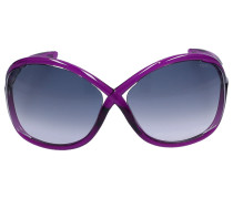 Sonnenbrille Oversize 9 75B Acetat lila