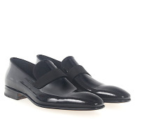 Slipper 039470 Lackleder