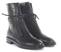 Boots LOVECALF Leder Perlen