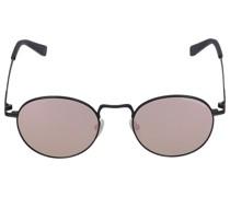 Sonnenbrille Round 253144 Metall schwarz