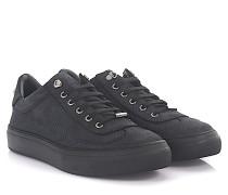 Sneaker Low Ace Nubukleder point-Prägung