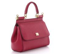 Handtasche Schultertasche Mini Sicily Leder geprägt