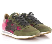Sneaker Tropez Low Veloursleder Lackleder pink Stoff camouflage