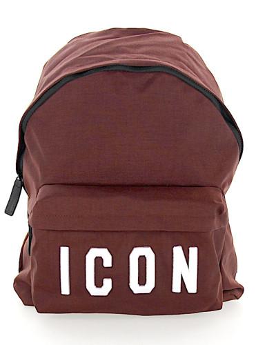 Rucksack ICON Textil bordeaux
