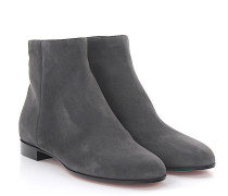 Stiefeletten Ankle Boots Milton Flat Bootie Veloursleder