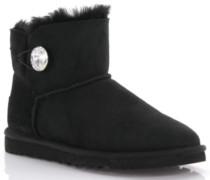 Stiefeletten Boots Mini Bailey Button Bling Veloursleder
