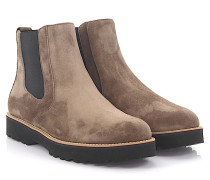 Chelsea Boots H259 Veloursleder