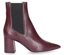 Chelsea Boots ZAVIA Kalbsleder bordeaux