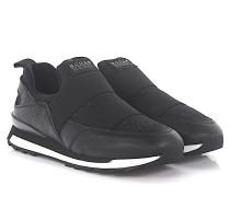 Sneaker R261 Slip On Leder Stoff Glitzer