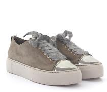 AGL Sneaker D92506 Plateau Veloursleder