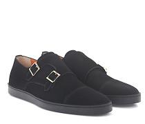 Sneaker Doppel-Monk 15021 Veloursleder