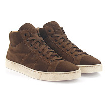 Sneaker Mid High 20532 Veloursleder