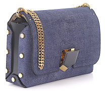 Handtasche Lockett City Denim Metallverzierung