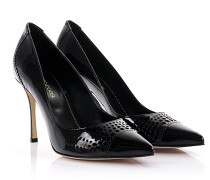 Pumps Godiva Lackleder perforiert