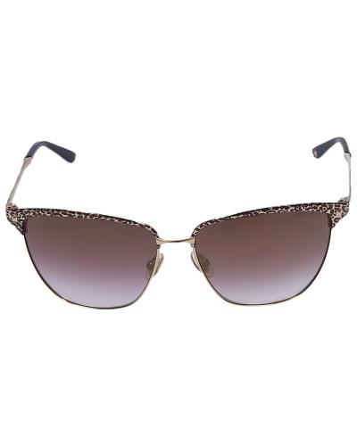 Sonnenbrille Wayfarer LAURA Metall gold