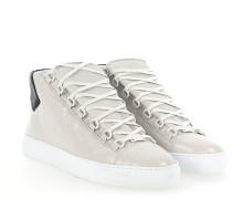 Sneaker ARENA High Lammleder cremeweiss crinkled