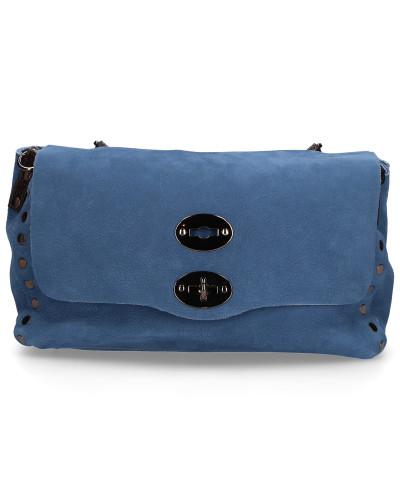 Handtasche JONES Kalbsleder Logo