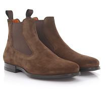 Chelsea Boots 15307 Veloursleder