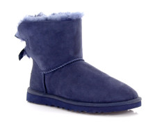 Stiefeletten Boots Mini Bailey Bow Veloursleder