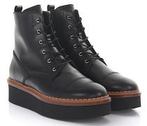 Stiefeletten Boots A0V590 Glattleder
