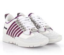 2 Sneaker 251 Nubukleder Hightech-Jersey Glitzer fuchsia