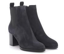 Boots Bootie A76030 Veloursleder