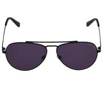 Sonnenbrille Aviator 254106 Metall sachwarz