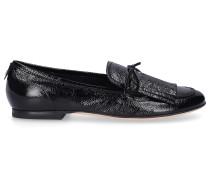 Loafer D744009 Lackleder Fransen