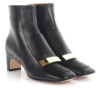 Stiefeletten A78930 Nappaleder Gold-Plated