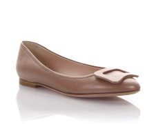 Ballerinas Nappaleder bronze
