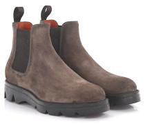 Stiefeletten Boots 55806 Veloursleder