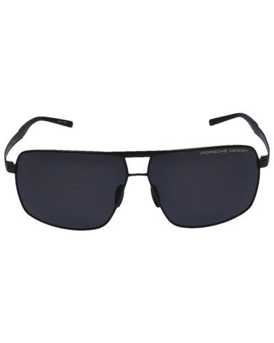 Sonnenbrille Aviator 8658 Titan Acetat braun