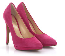 High Heels Pumps Kalbsleder Veloursleder