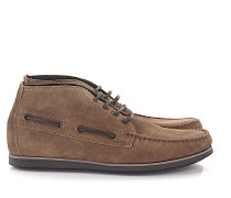 Stiefeletten Boots Mid High TUBULAR Veloursleder braun