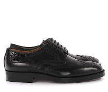 Businessschuhe Oxford LONDON Cordovan Lochmuster