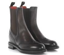 Stiefeletten Boots Budapester 52703 Leder geprägt